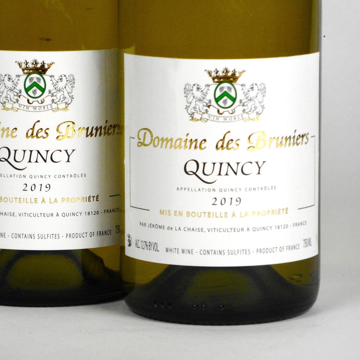 Quincy: Jerôme de la Chaise 2019