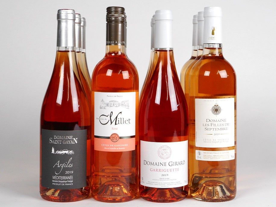 Refreshing Rosé Mixed Case Wine Offer