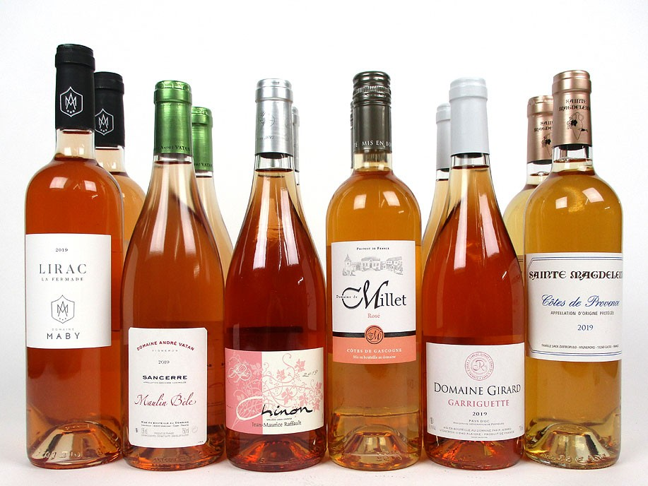 'Resplendent Rosé' - Mixed Case Wine Offer