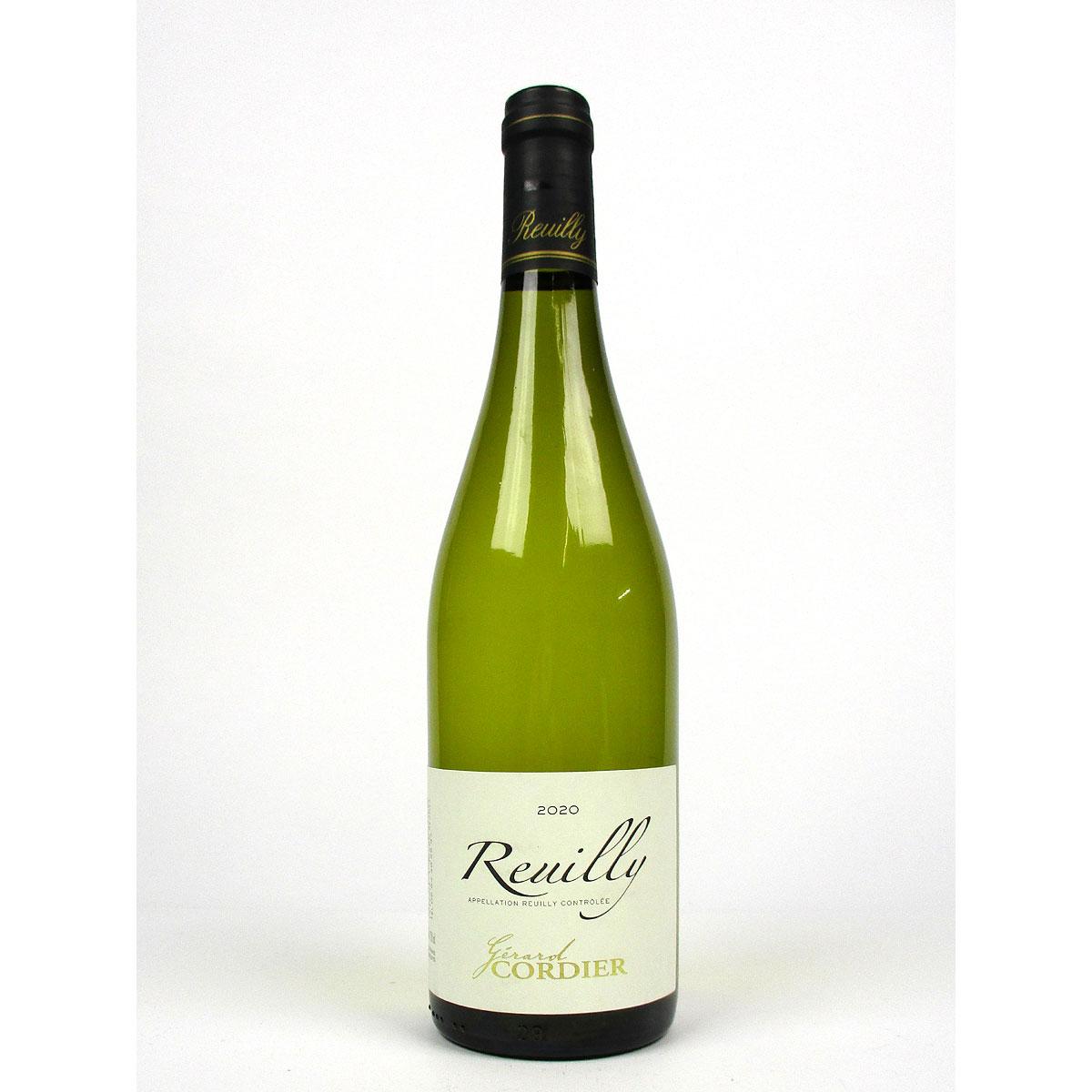 Reuilly: Gerard Cordier Blanc 2020 - Bottle