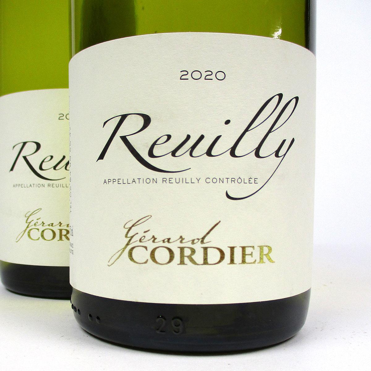 Reuilly: Gerard Cordier Blanc 2020