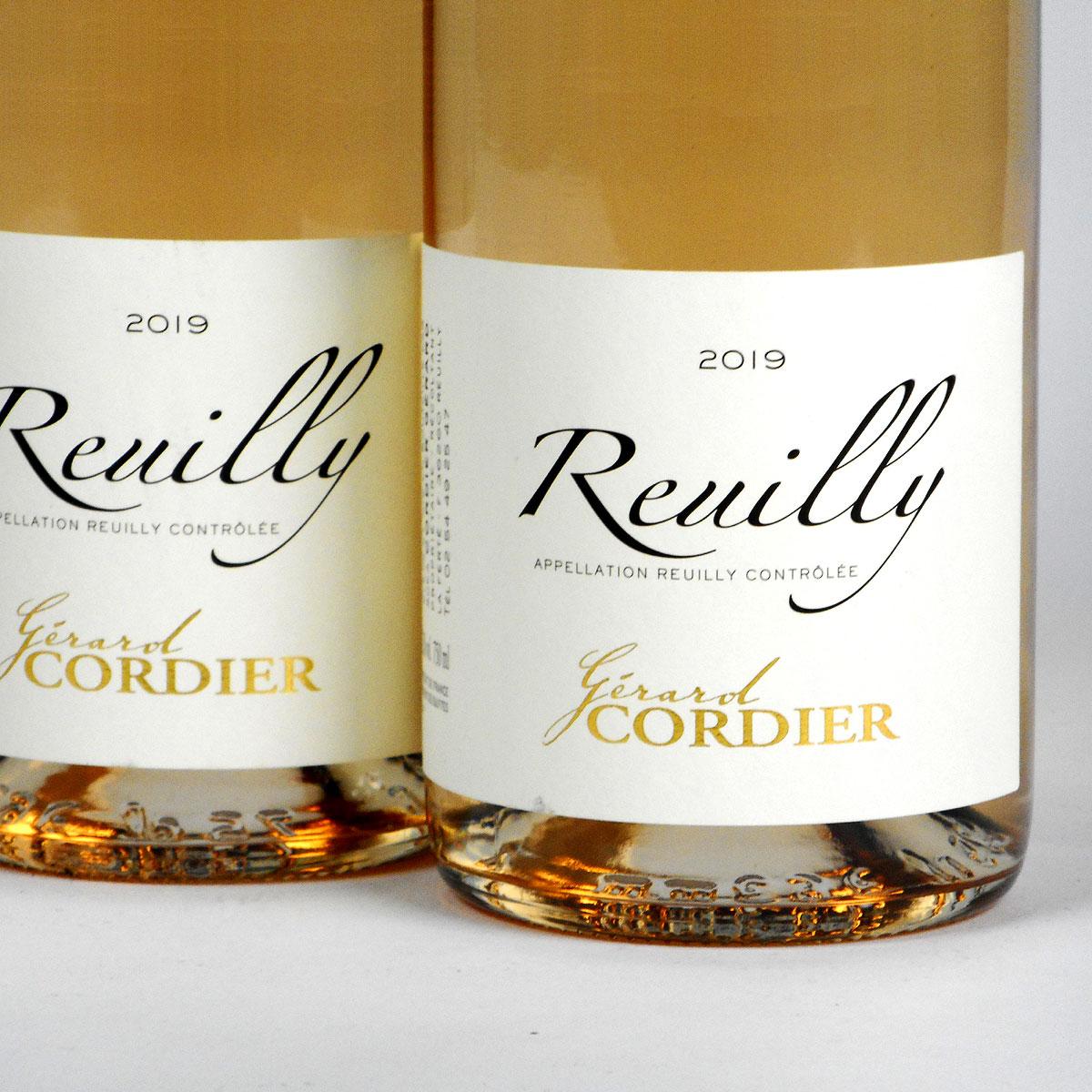 Reuilly: Gerard Cordier Pinot Gris 2019