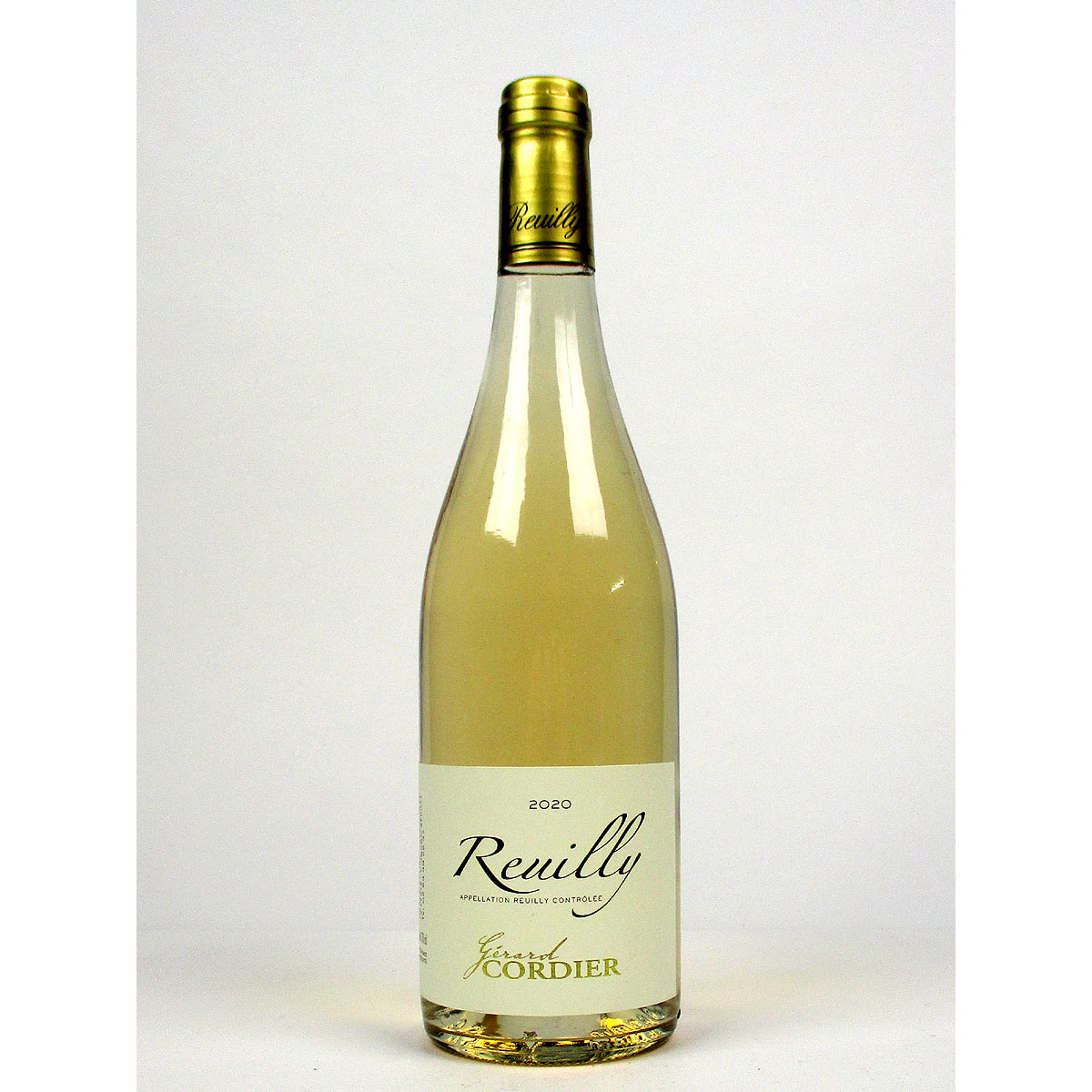 Reuilly: Gerard Cordier Pinot Gris 2020 - Bottle