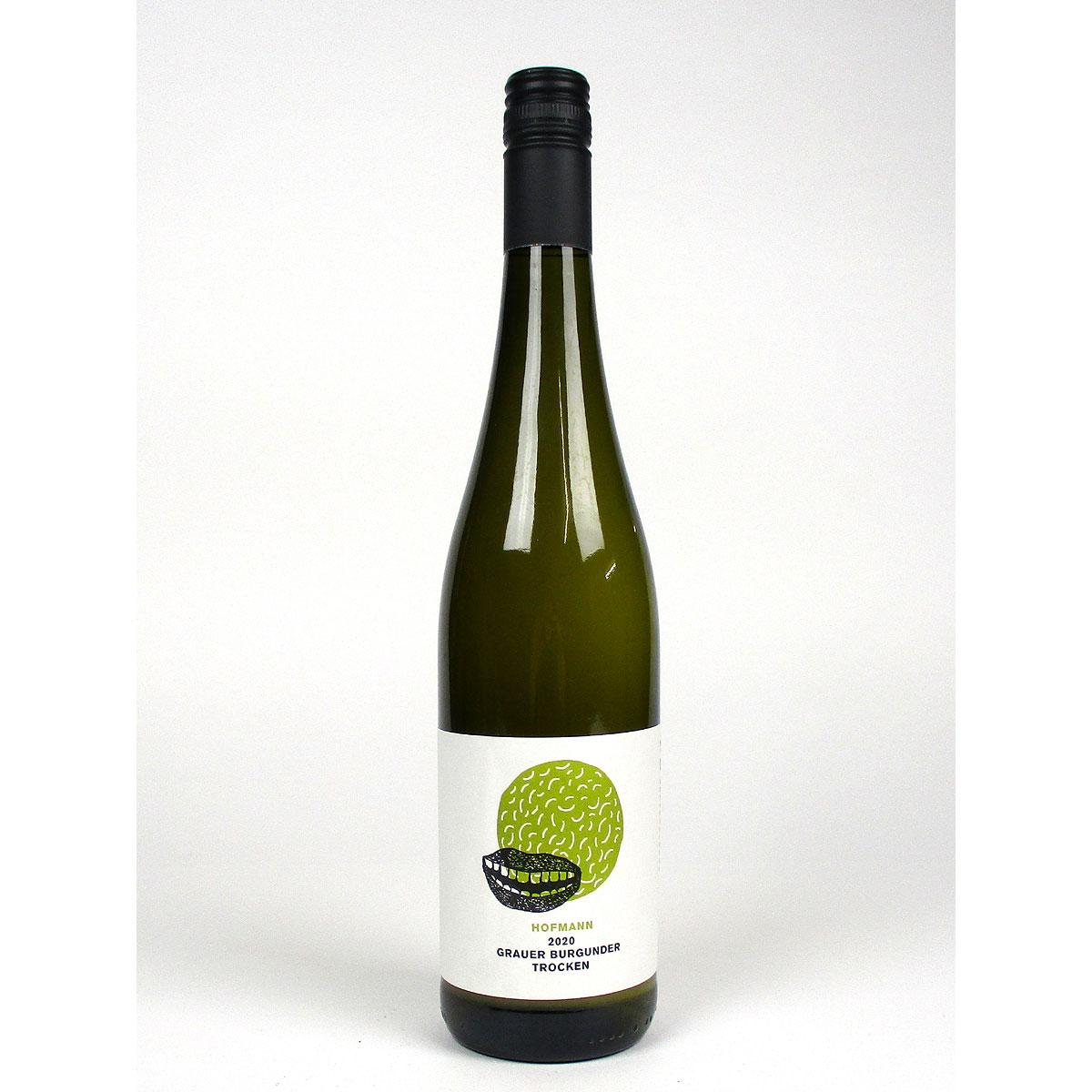 Rheinhessen: Jürgen Hofmann Grauer Burgunder Trocken 2020 - Bottle