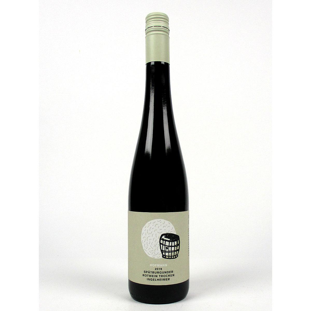 Rheinhessen: Jürgen Hofmann Ingelheimer Spätburgunder 2019 - Bottle