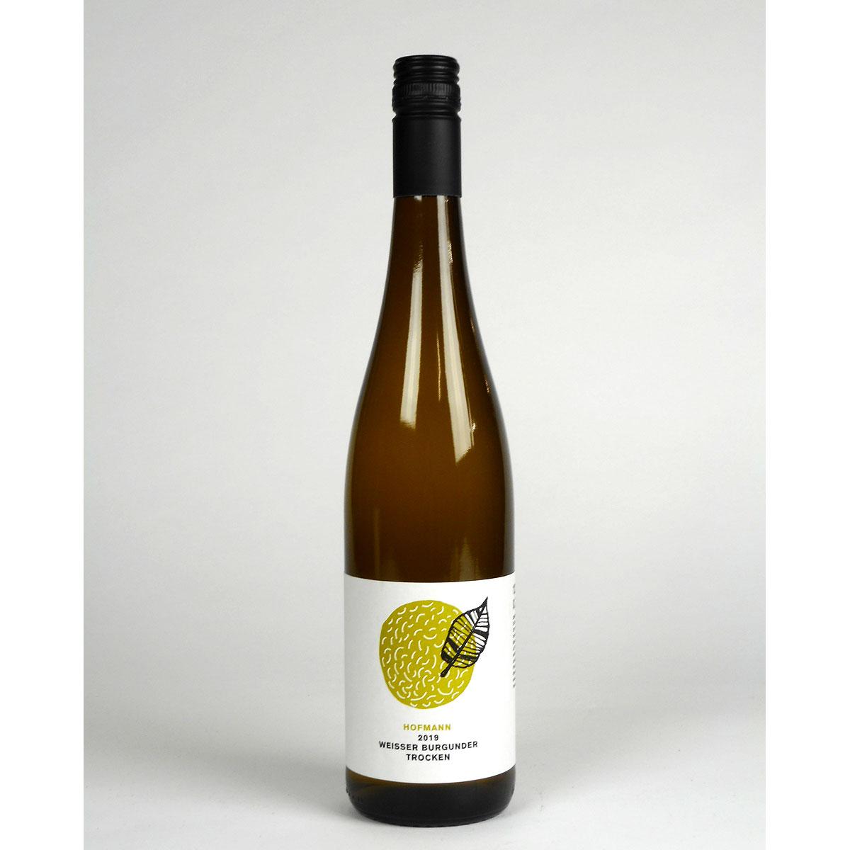Rheinhessen: Jürgen Hofmann Weisser Burgunder Trocken 2019 - Bottle