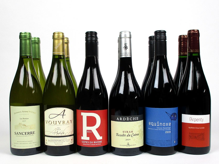 'Rhône and Loire Press Pack' - Mixed Case Wine Offer