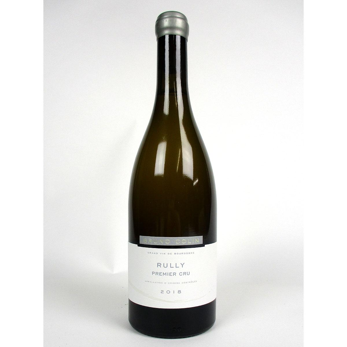 Rully: Domaine Colin 'Premier Cru' Blanc 2018 - Bottle