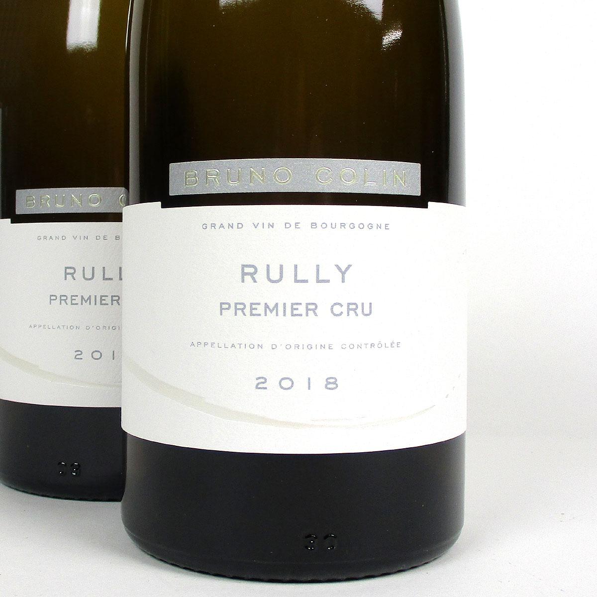 Rully: Domaine Colin 'Premier Cru' Blanc 2018