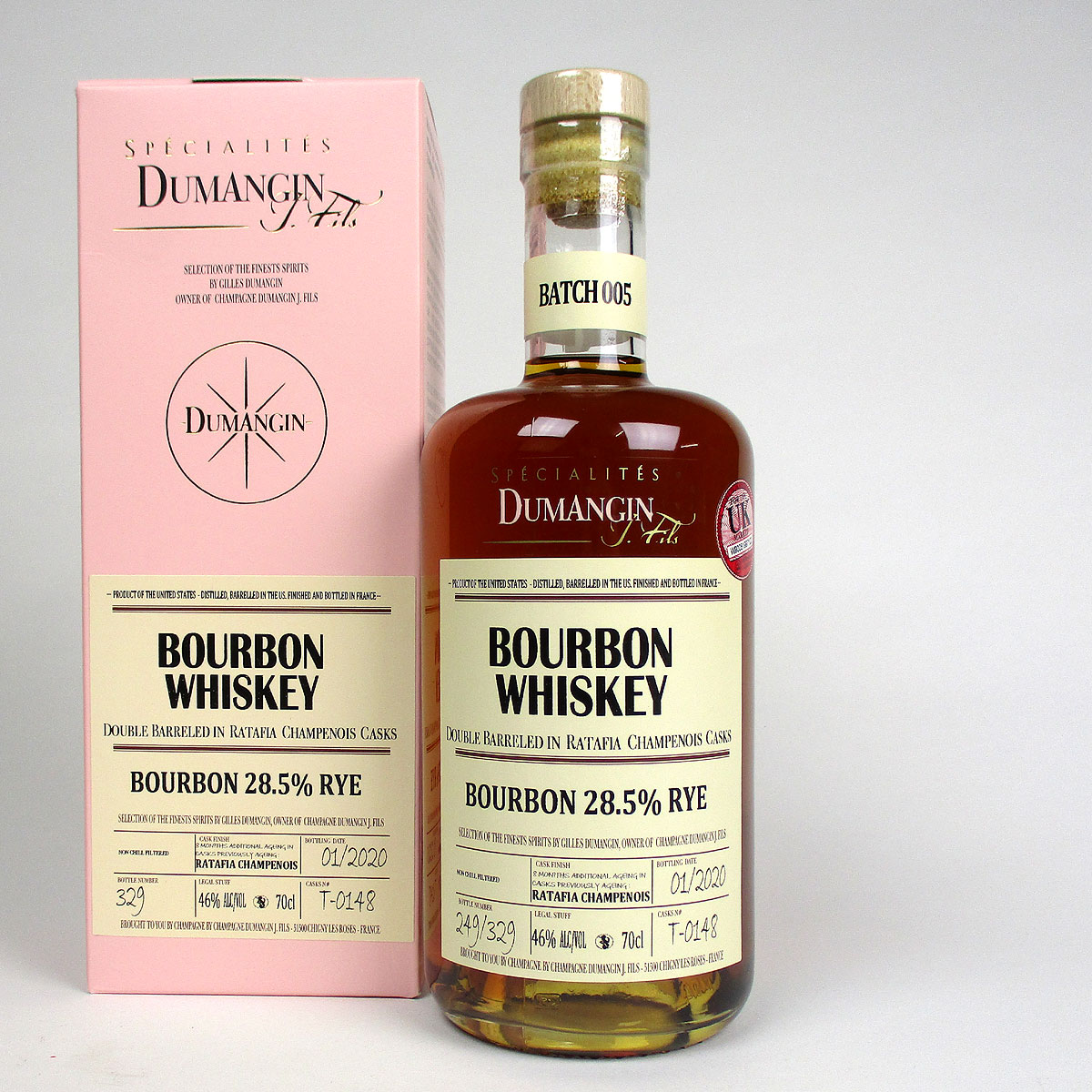 Rye Bourbon Whiskey: Spécialités Dumangin