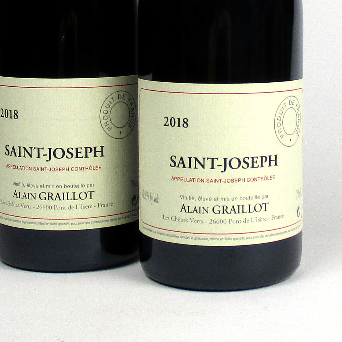Saint-Joseph: Alain Graillot Rouge 2018