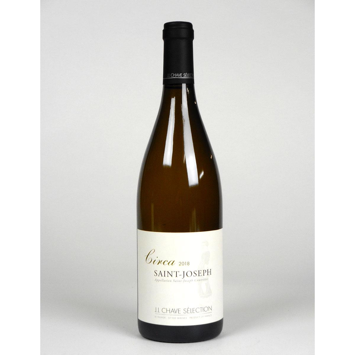 Saint-Joseph: Jean-Louis Chave Sélection 'Circa' Blanc 2018 - Wine Bottle