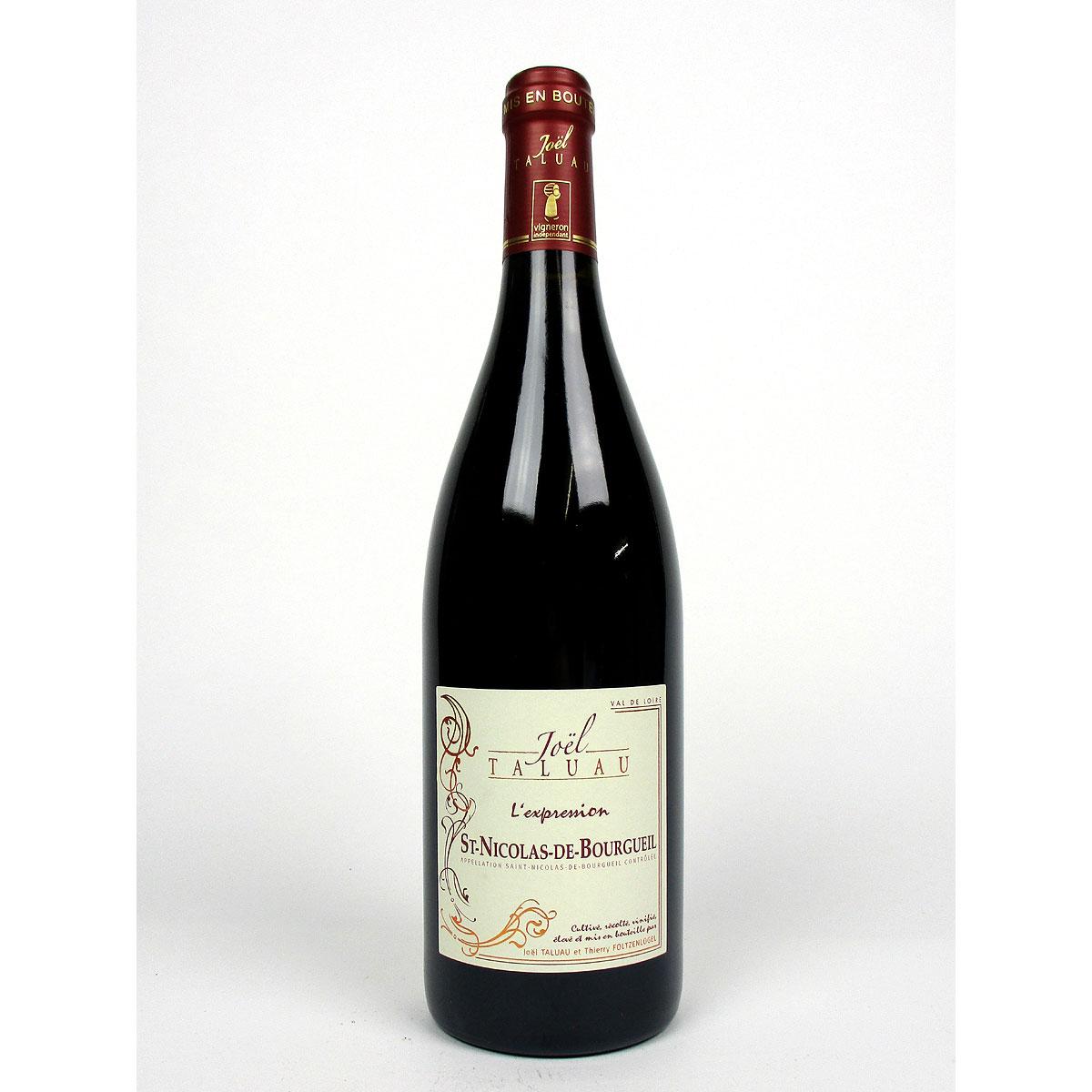 Saint-Nicolas-de-Bourgueil: Domaine Taluau - Foltzenlogel 'l'Expression' 2019 - Bottle