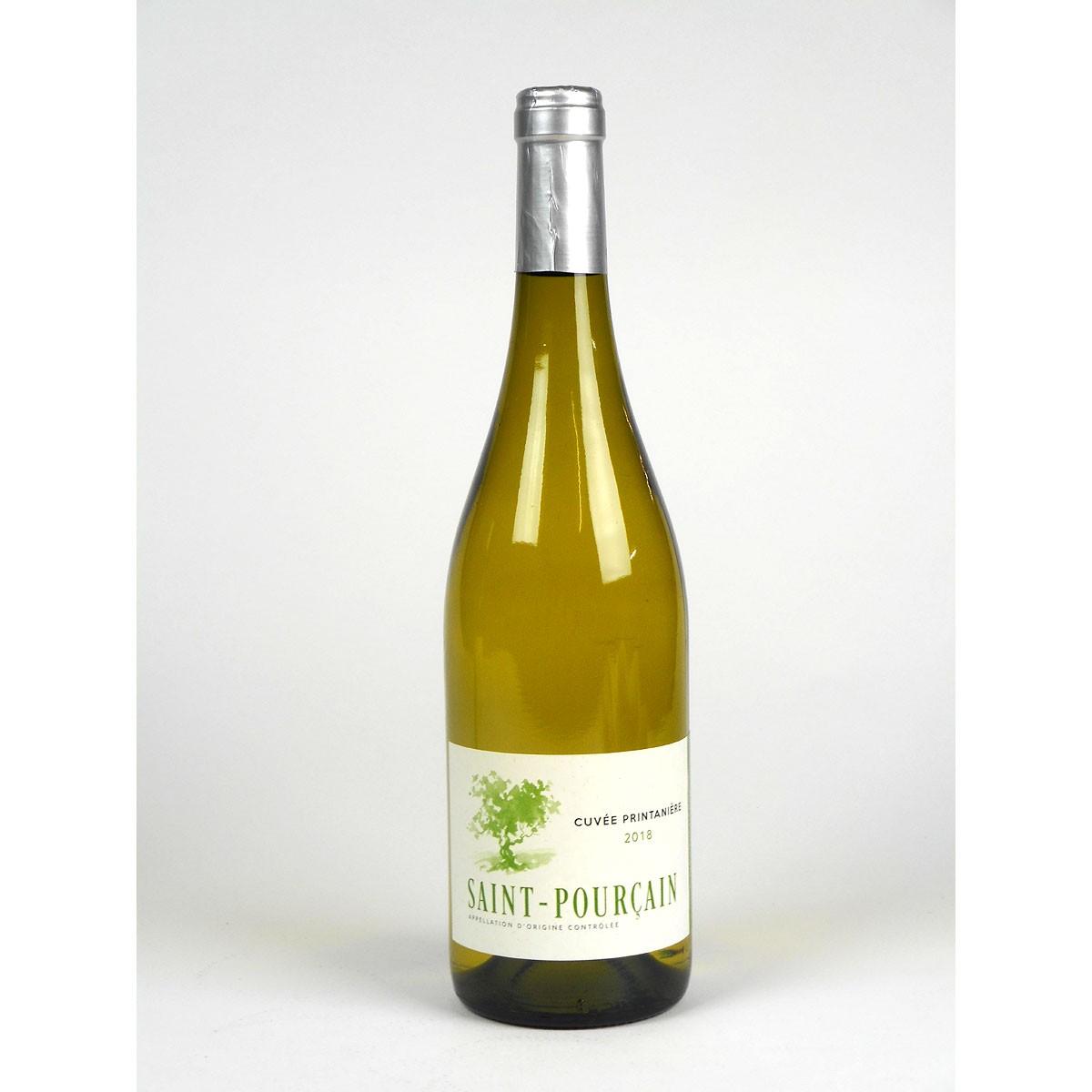Saint-Pourçain: 'Cuvée Printanière' Blanc 2018 - Bottle
