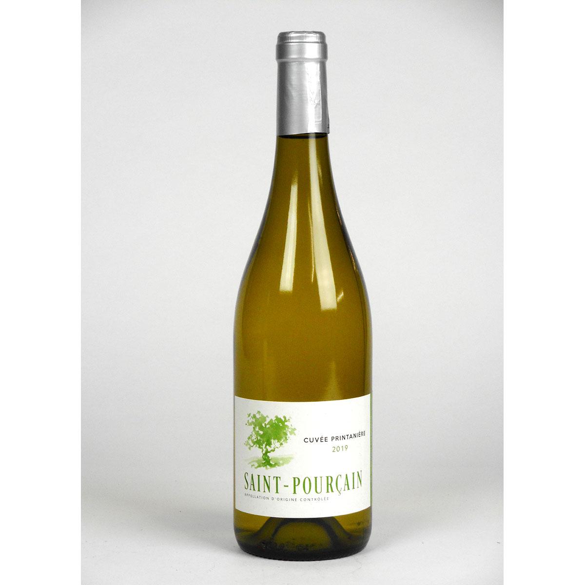 Saint-Pourçain: 'Cuvée Printanière' Blanc 2019 - Bottle