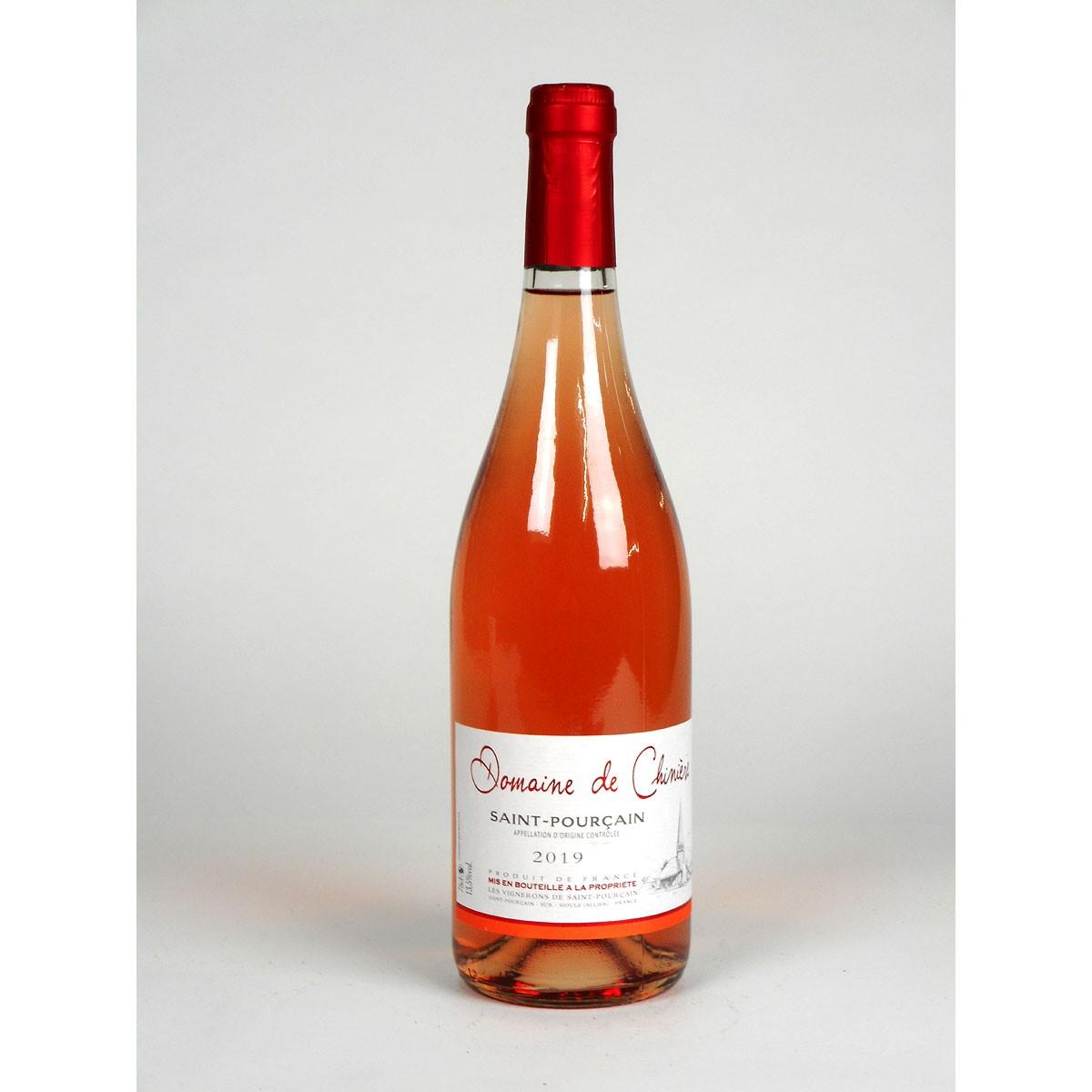 Saint-Pourçain: Domaine de Chinière Rosé 2019 - Bottle