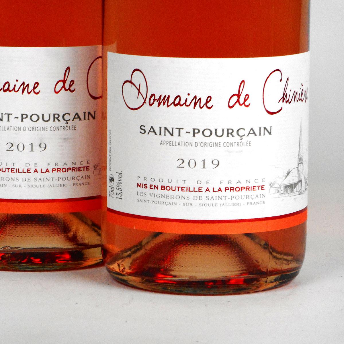 Saint-Pourçain: Domaine de Chinière Rosé 2019