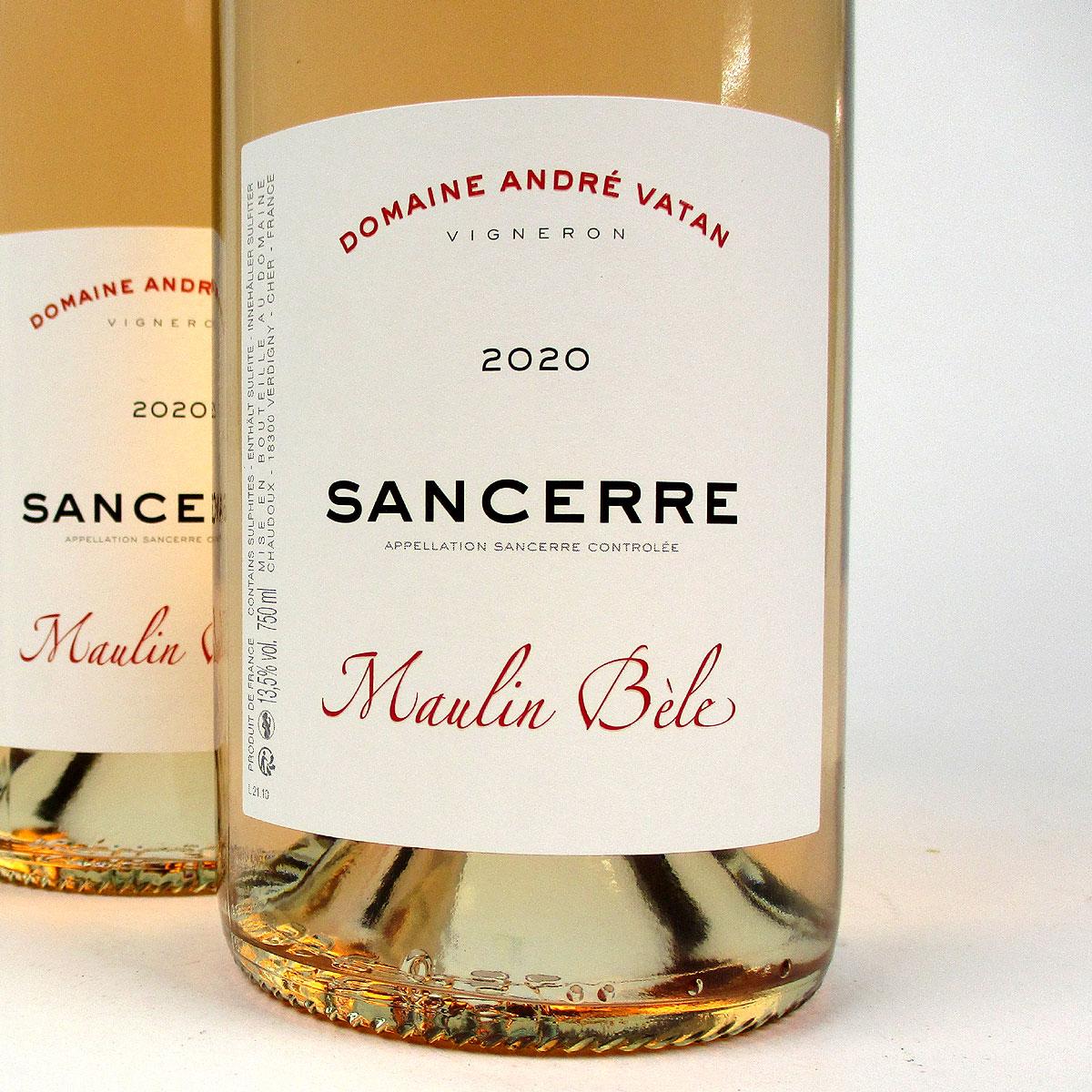 Sancerre: Domaine André Vatan 'Maulin Bèle' Rosé 2020