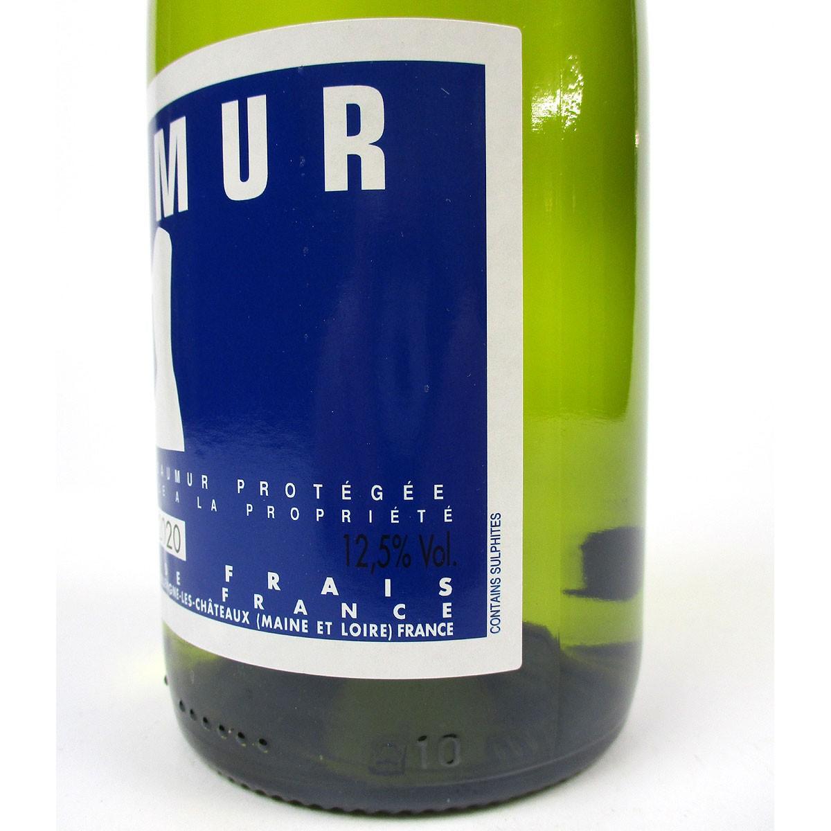 Saumur Blanc 2020 - Bottle Label Side