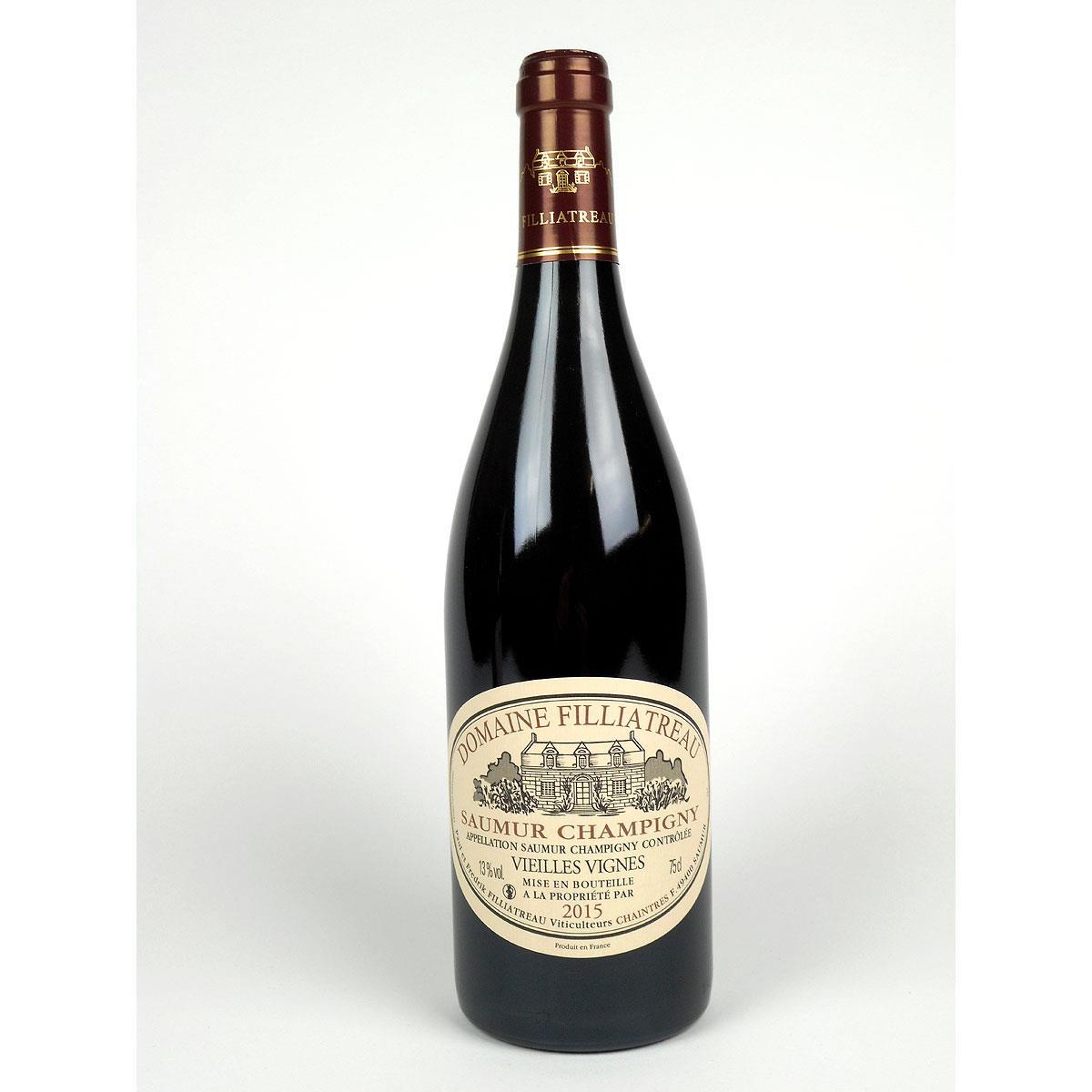 Saumur Champigny: Domaine Filliatreau 'Vieilles Vignes' 2015 - Bottle