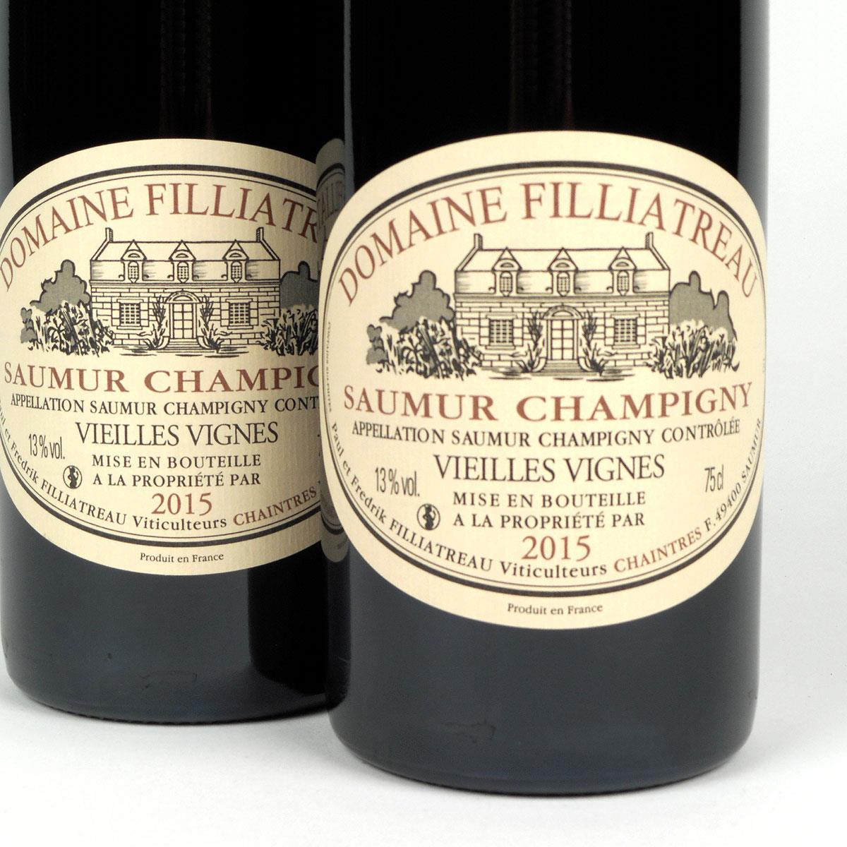 Saumur Champigny: Domaine Filliatreau 'Vieilles Vignes' 2015