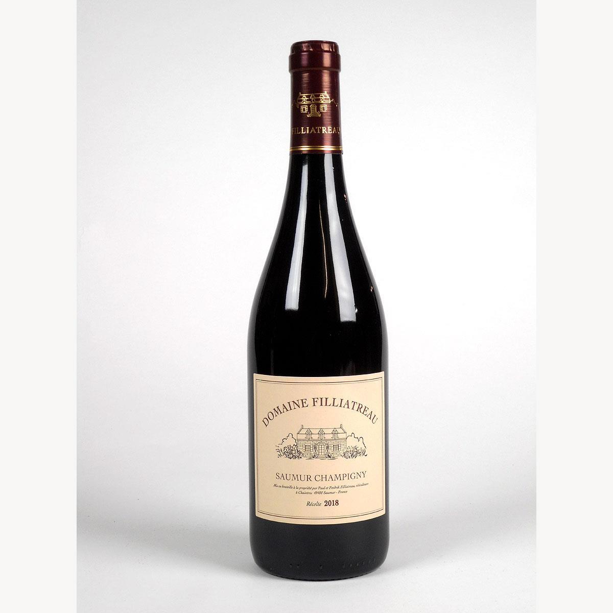 Saumur Champigny: Domaine Filliatreau 2018 - Bottle