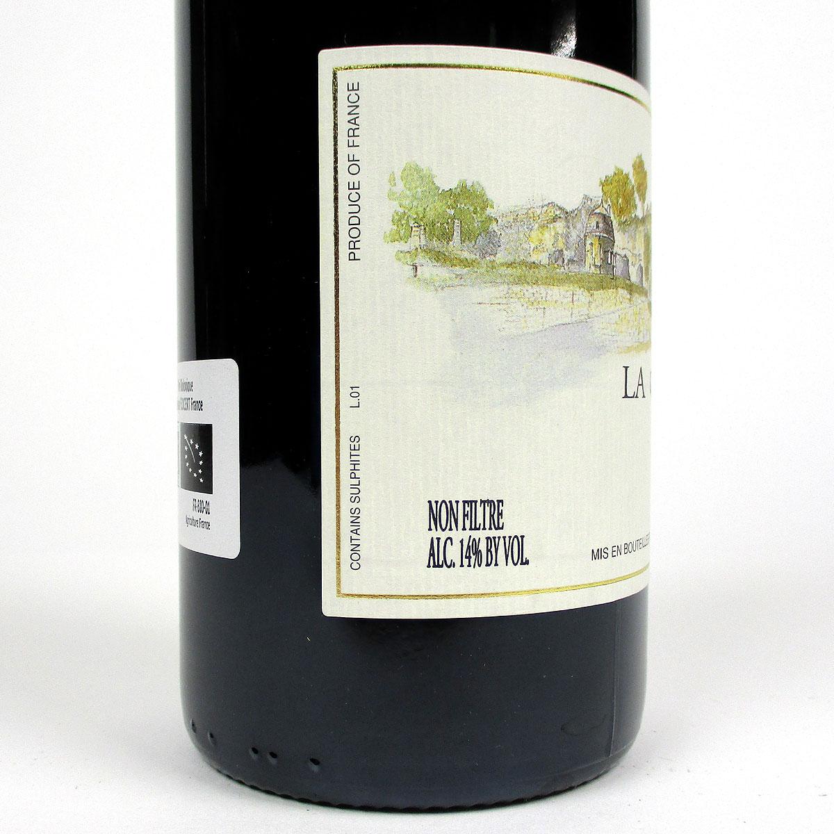 Saumur Champigny: Domaine Filliatreau 'La Grande Vignolle' 2020 - Bottle Side Label