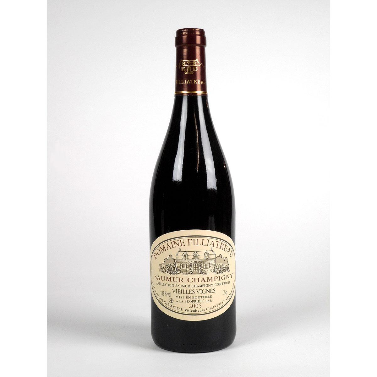Saumur Champigny: Domaine Filliatreau 'Vieilles Vignes' 2005 - Bottle