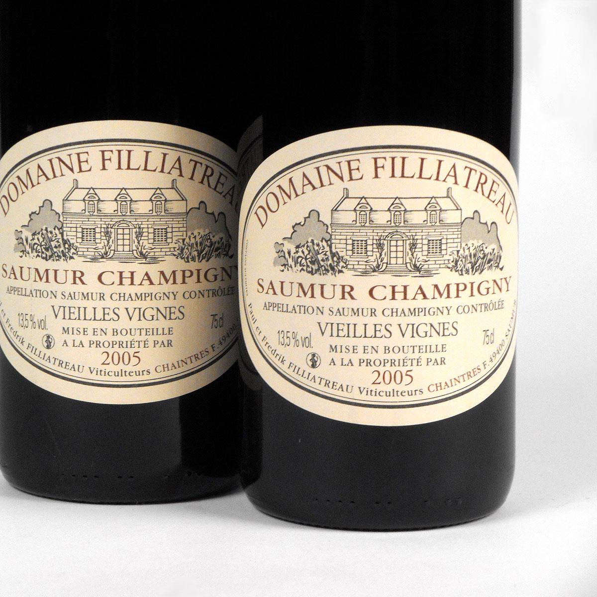 Saumur Champigny: Domaine Filliatreau 'Vieilles Vignes' 2005