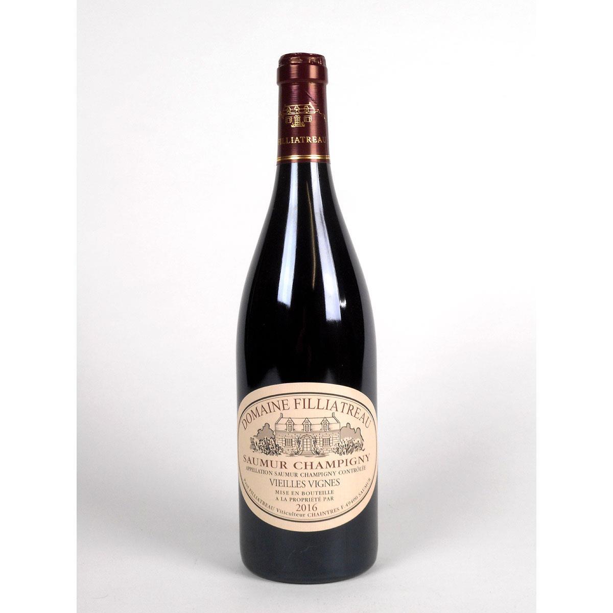 Saumur Champigny: Domaine Filliatreau 'Vieilles Vignes' 2016 - Bottle