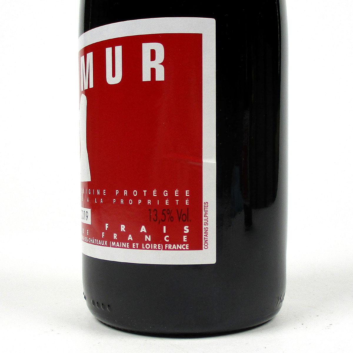Saumur Rouge 2019 - Bottle Side Label