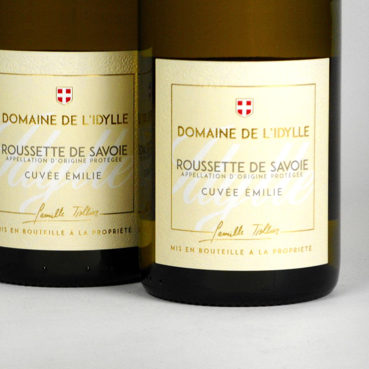 Savoie: Domaine de L'Idylle 'Cuvée Emilie' Roussette 2018