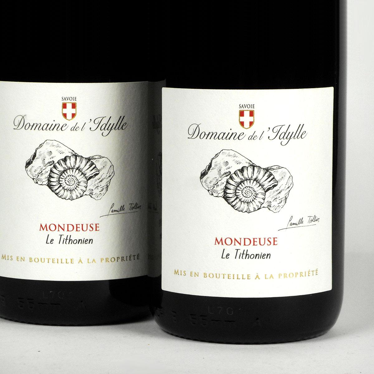 Savoie: Domaine de L'Idylle Mondeuse 'Le Tithonien' 2018