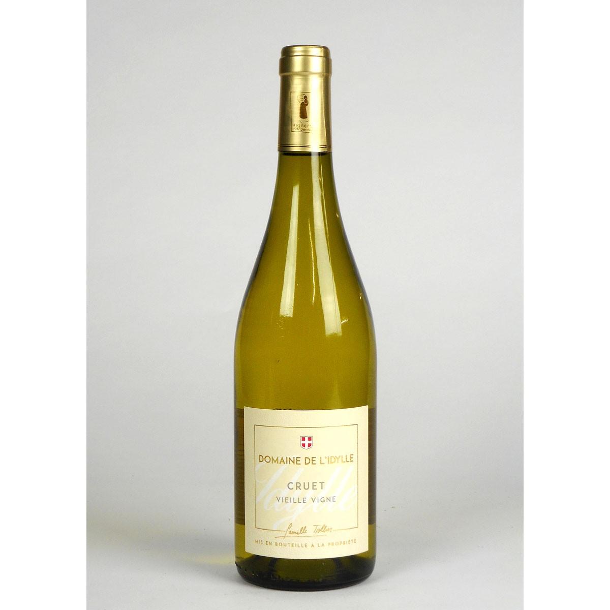 Savoie: Domaine de l'Idylle 'Vieilles Vignes' Blanc 2019 - Bottle