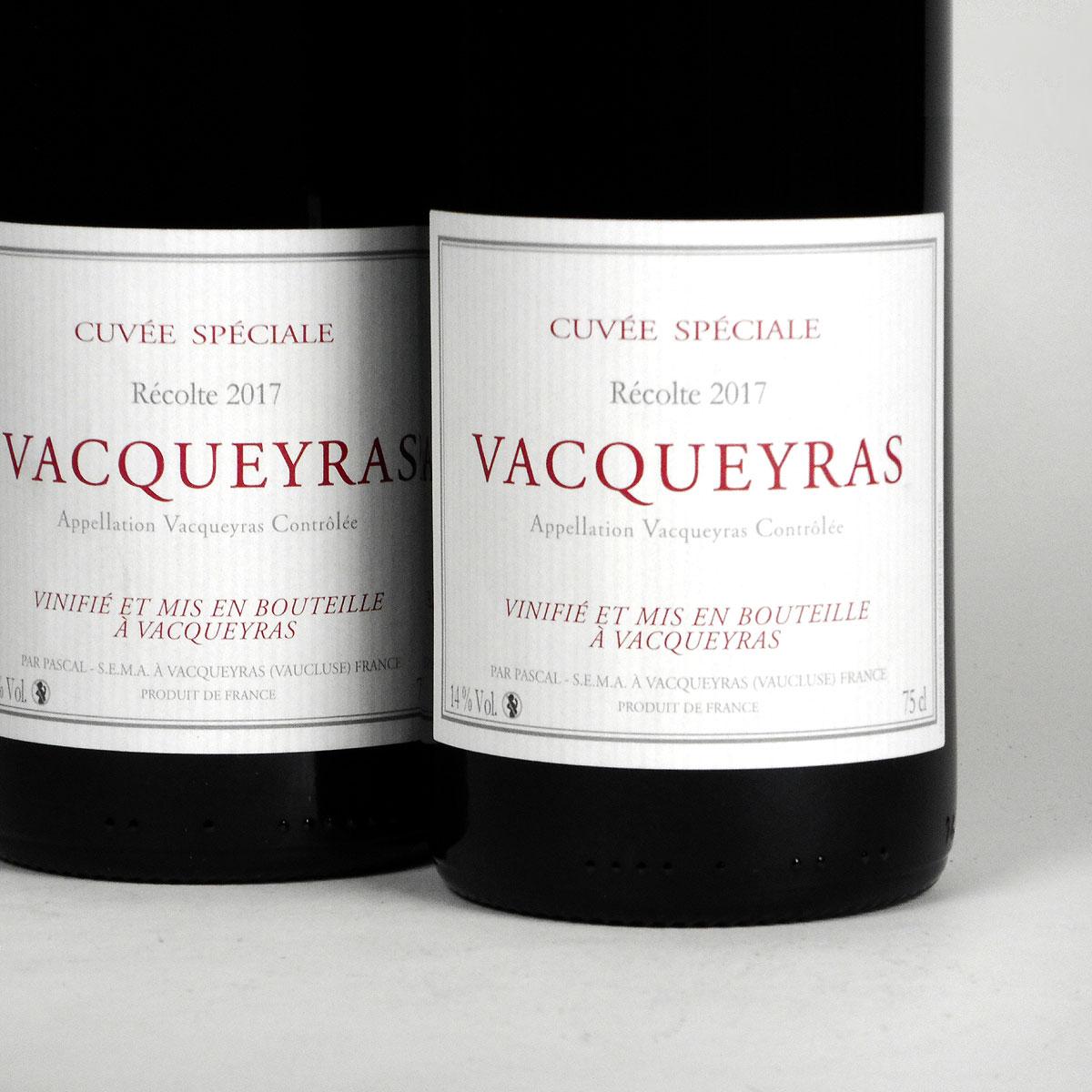 Vacqueyras: Pascal Frères 'Cuvée Spéciale' 2017