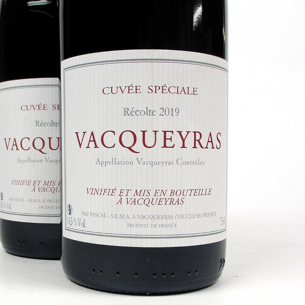 Vacqueyras: Pascal Frères 'Cuvée Spéciale' 2019