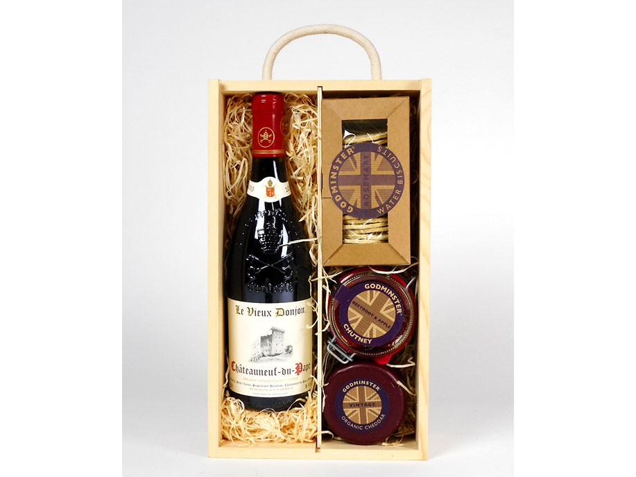 Top Châteauneuf' & Cheddar Gift Box
