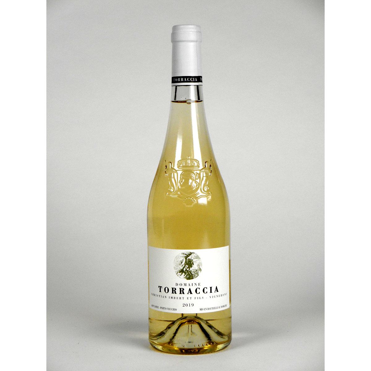 Vin de Corse Porto Vecchio: Domaine de Torraccia Blanc 2019 - Bottle