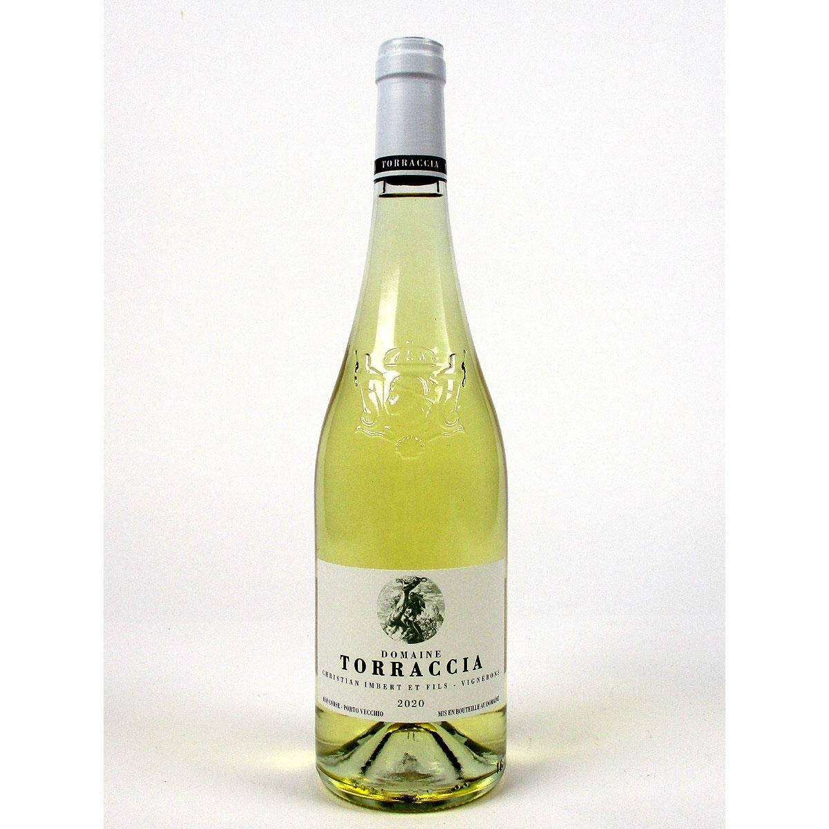 Vin de Corse Porto Vecchio: Domaine de Torraccia Blanc 2020 - Bottle