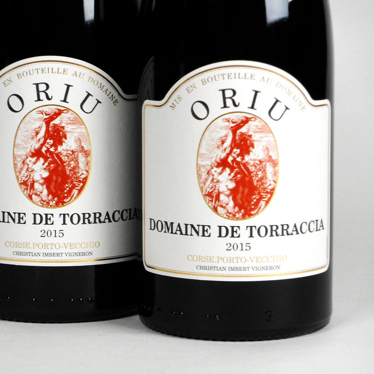 Vin de Corse Porto Vecchio: Domaine de Torraccia: Cuvée Oriu 2015