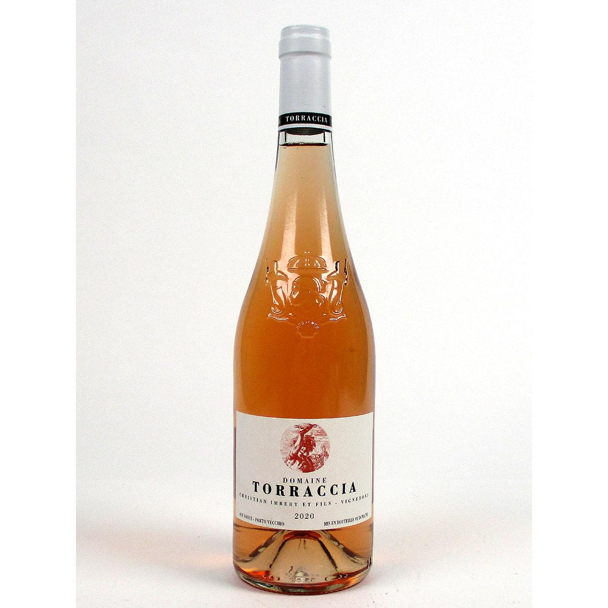 Vin de Corse Porto Vecchio: Domaine de Torraccia Rosé 2020 - Bottle