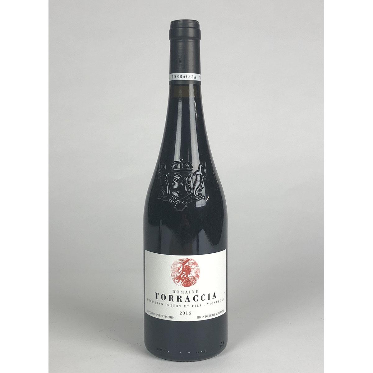 Vin de Corse Porto Vecchio: Domaine de Torraccia Rouge 2016 - Bottle