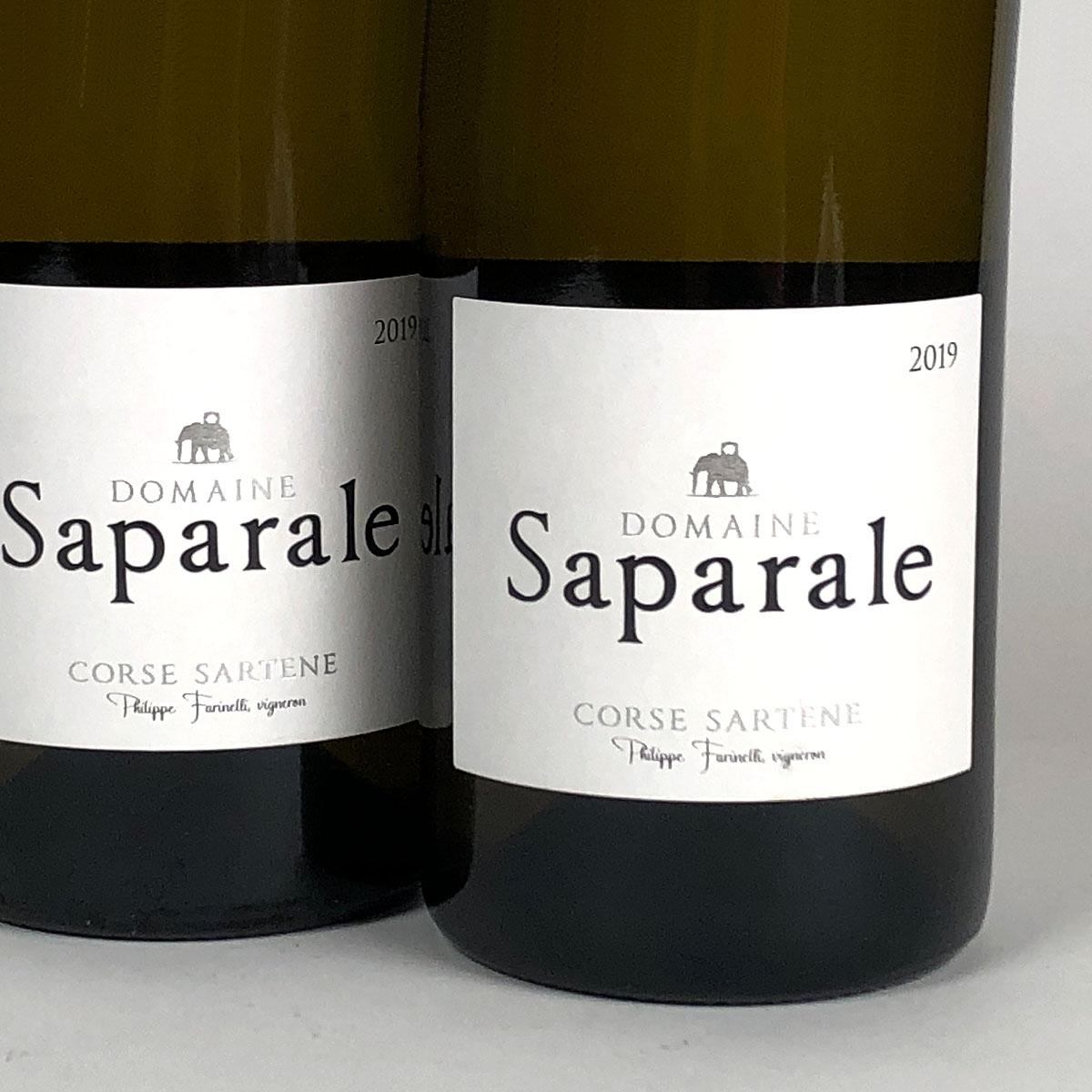 Vin de Corse Sartène Blanc: Domaine Saparale 2019