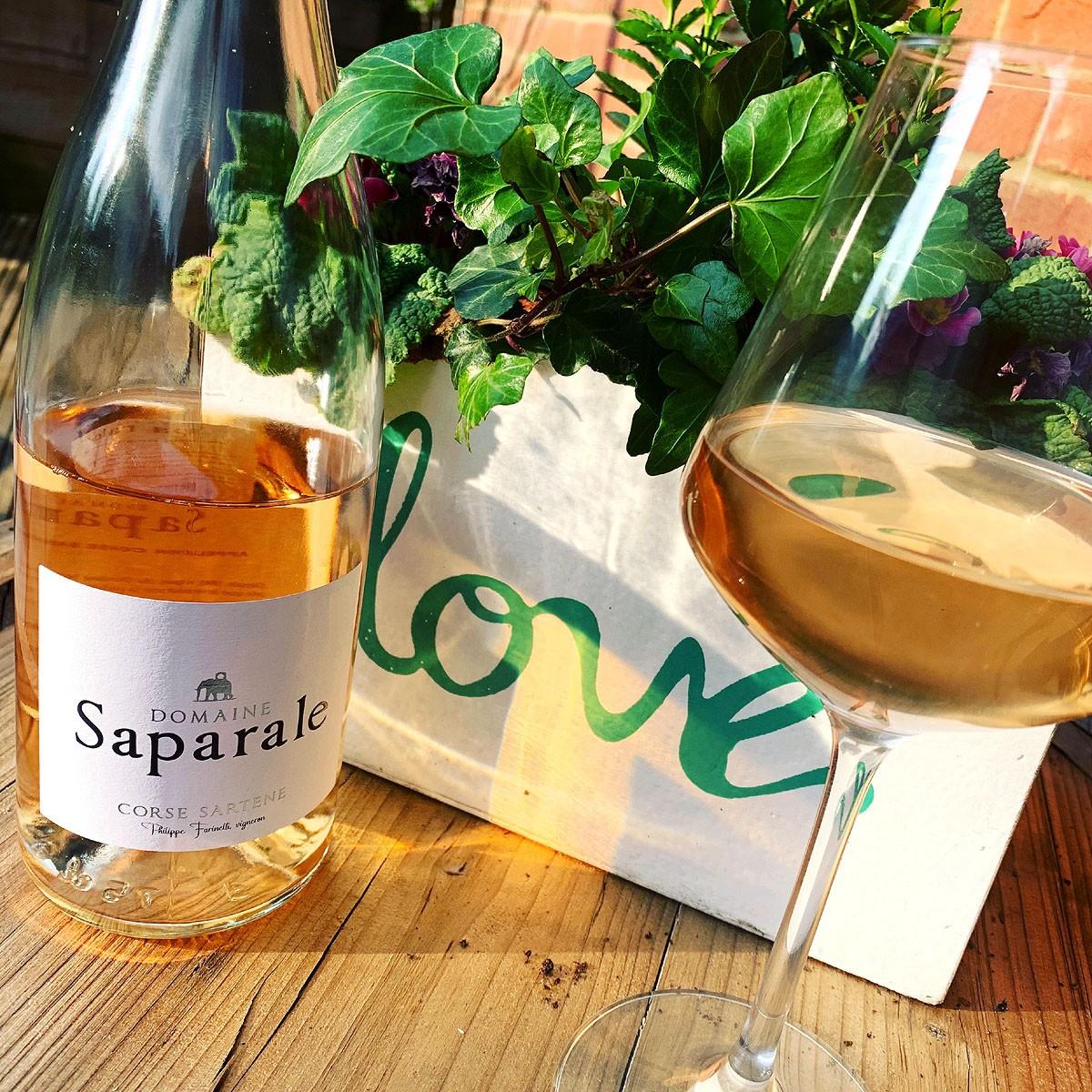 Vin de Corse Sartène Rosé: Domaine Saparale 2020 - Lifetsyle