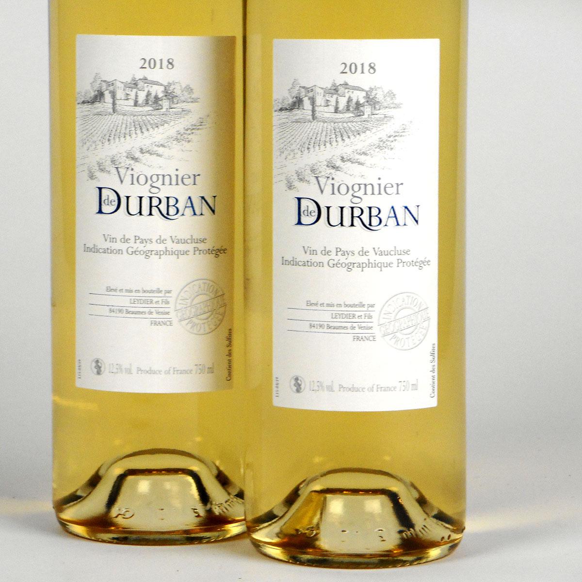 Vin de Pays de Vaucluse: Domaine de Durban Viognier 2018