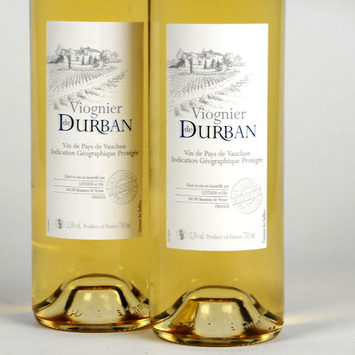 Vin de Pays de Vaucluse: Domaine de Durban Viognier 2019