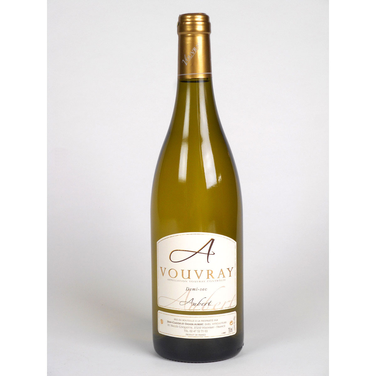 Vouvray: Jean-Claude & Didier Aubert Demi-Sec - Bottle
