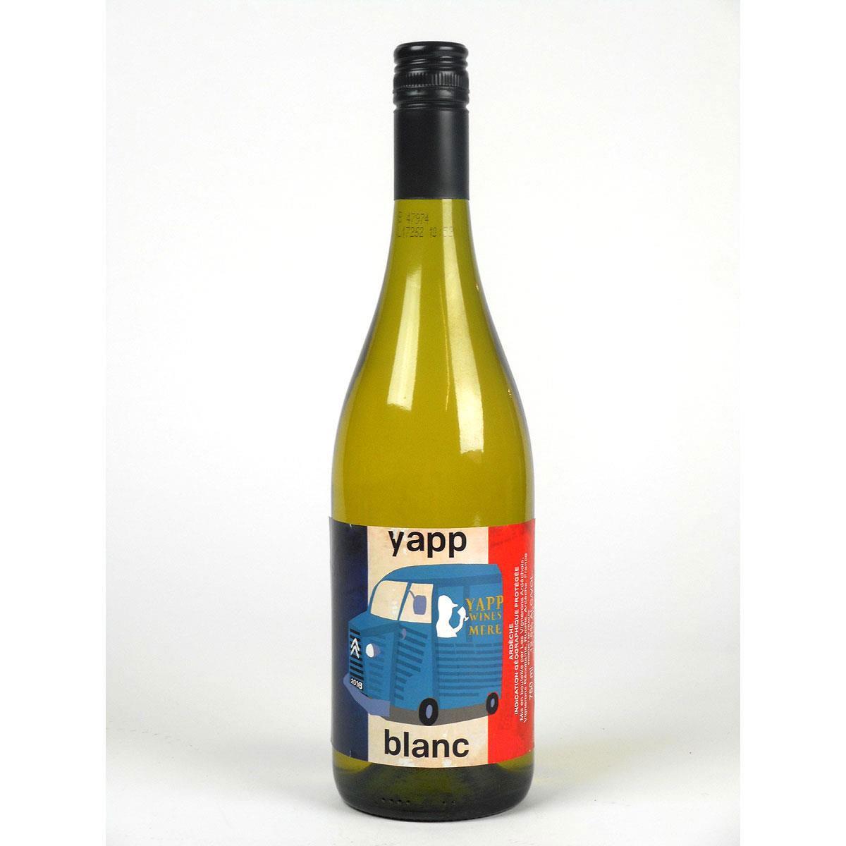 Yapp Blanc 2018 - Bottle