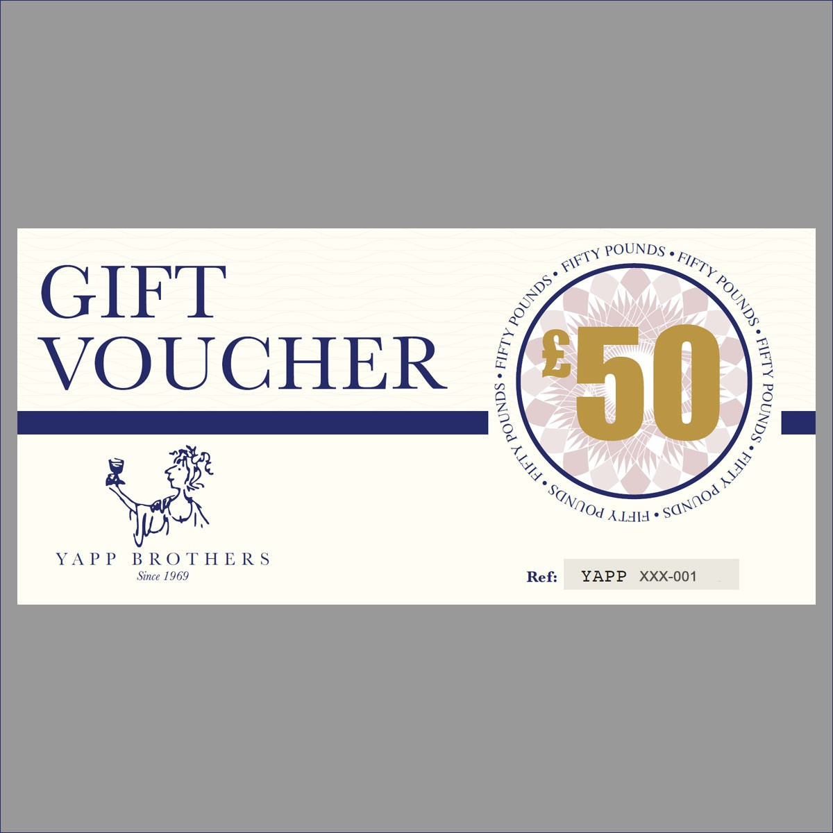 Yapp Brothers £50 Gift Voucher