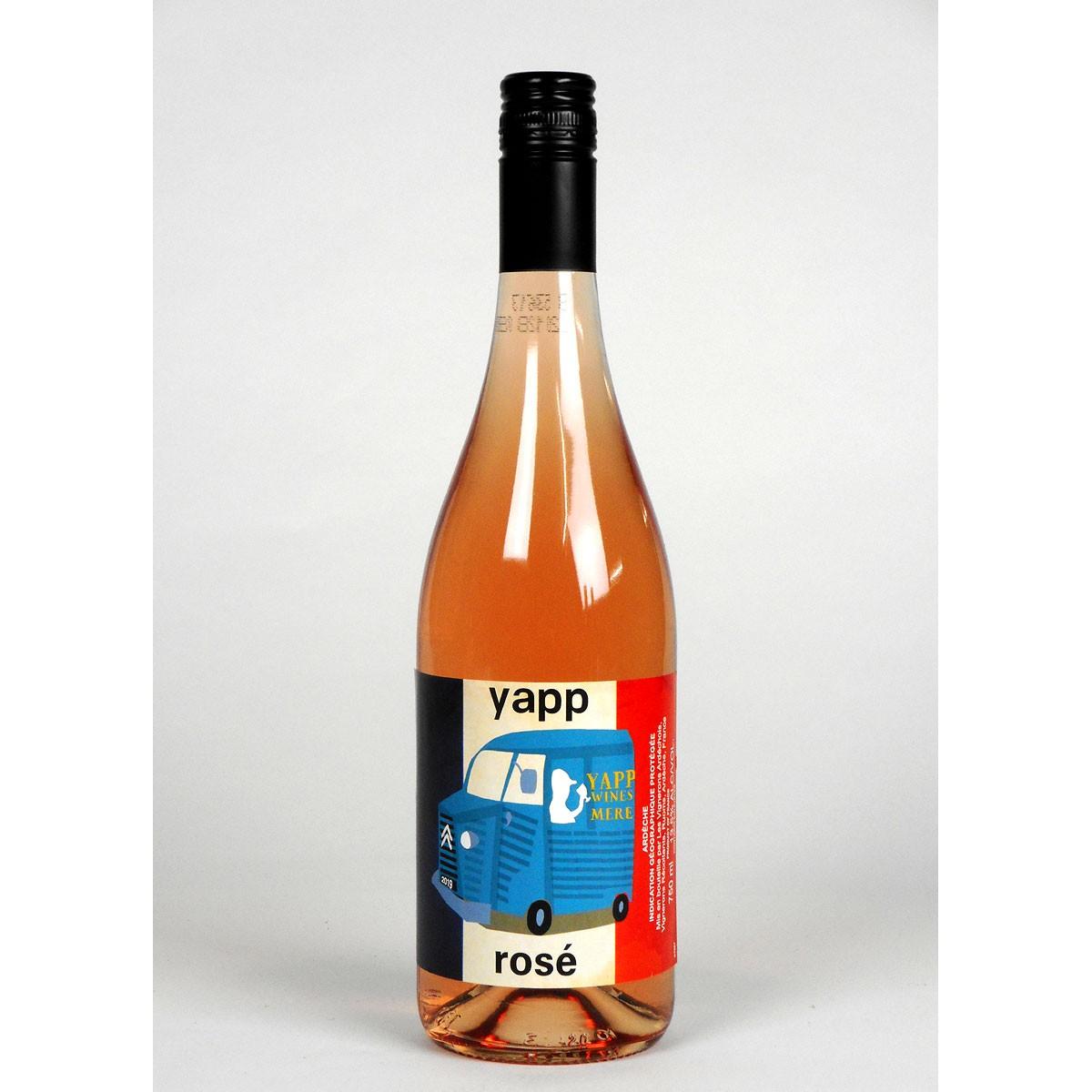 Yapp Rosé 2019 - Bottle